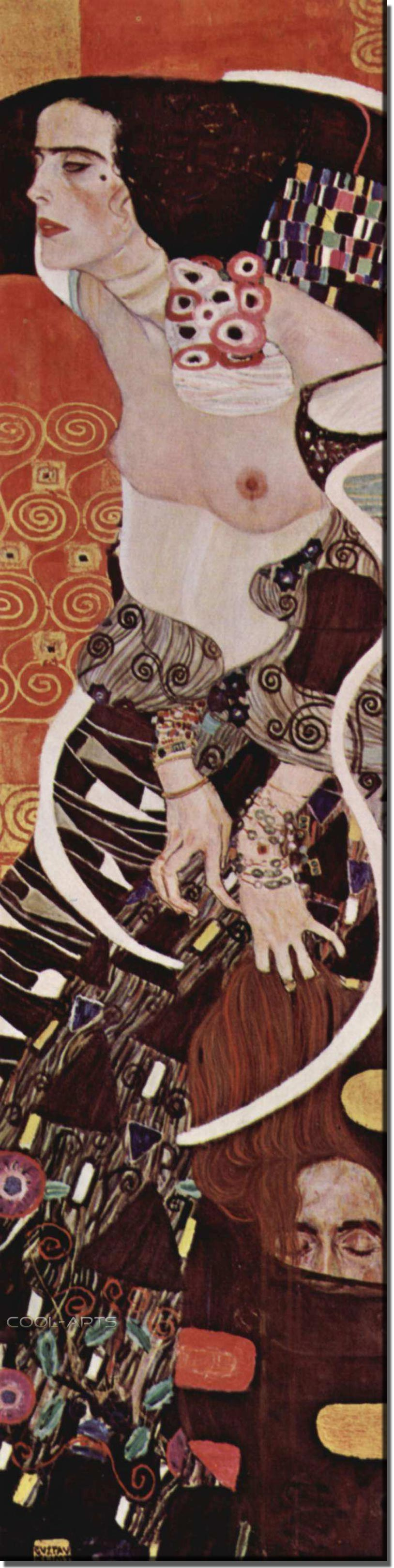 картина Юдифь :: Густав Климт (Австрия ), плюс статья  - Новый год в Турции - не только покупка шубы - Gustav Klimt (Климт Густав ) фото