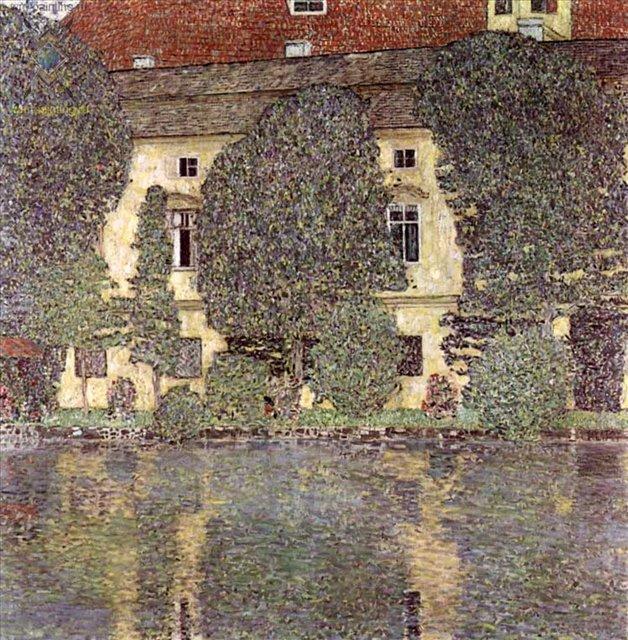 Замок Каммер на Аттерзе :: Густав Климт (Австрия ) - Gustav Klimt (Климт Густав ) фото
