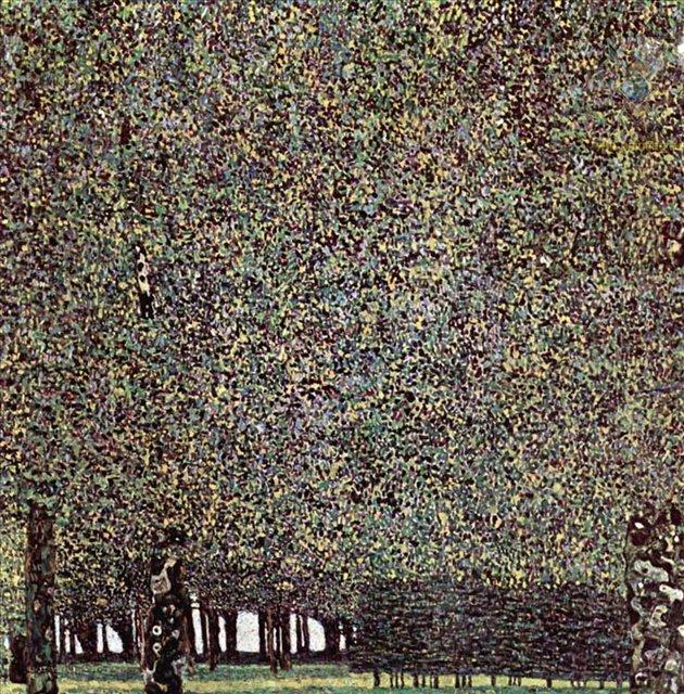 Парк :: Густав Климт (Австрия ) - Gustav Klimt (Климт Густав ) фото