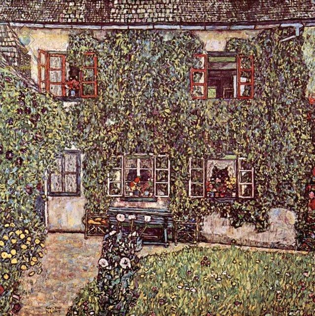 Дом Гвардабоски :: Густав Климт ( Австрия ) - Gustav Klimt (Климт Густав ) фото