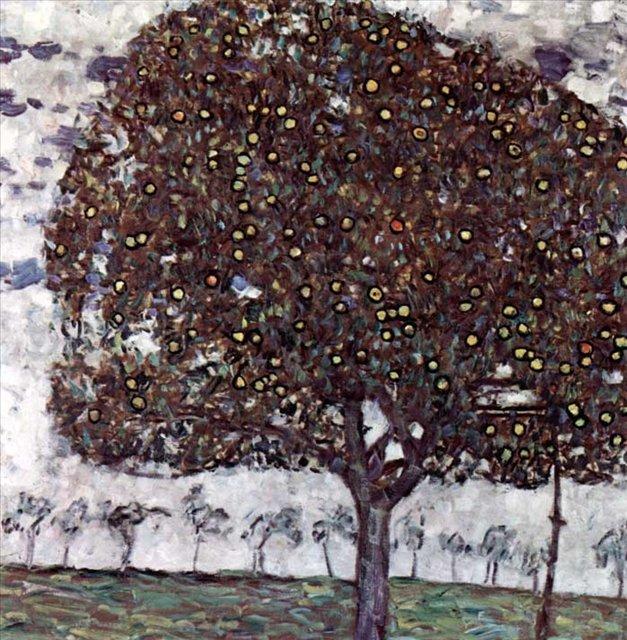 Яблоня :: Густав Климт ( Австрия ) - Gustav Klimt (Климт Густав ) фото