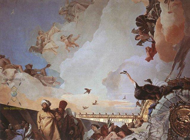 Слава Испании :: Джованни Баттиста Тьеполо ( Италия ) - Фрески, монументальная живопись, роспись стен фото