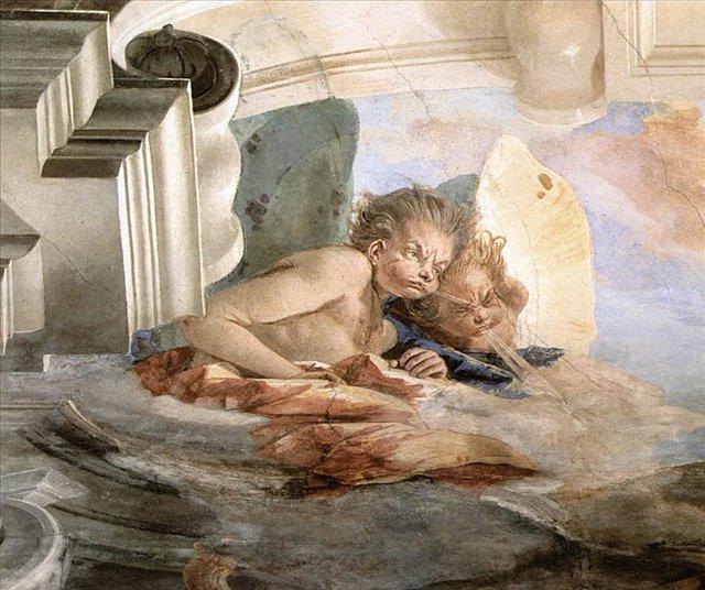 Ветра :: :: Джованни Баттиста Тьеполо ( Италия ) - Фрески, монументальная живопись, роспись стен фото