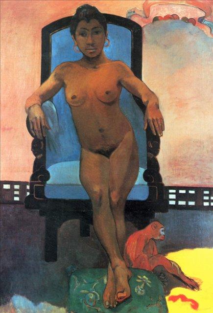 Аннах с острова Ява :: Поль Гоген - Paul Gauguin фото