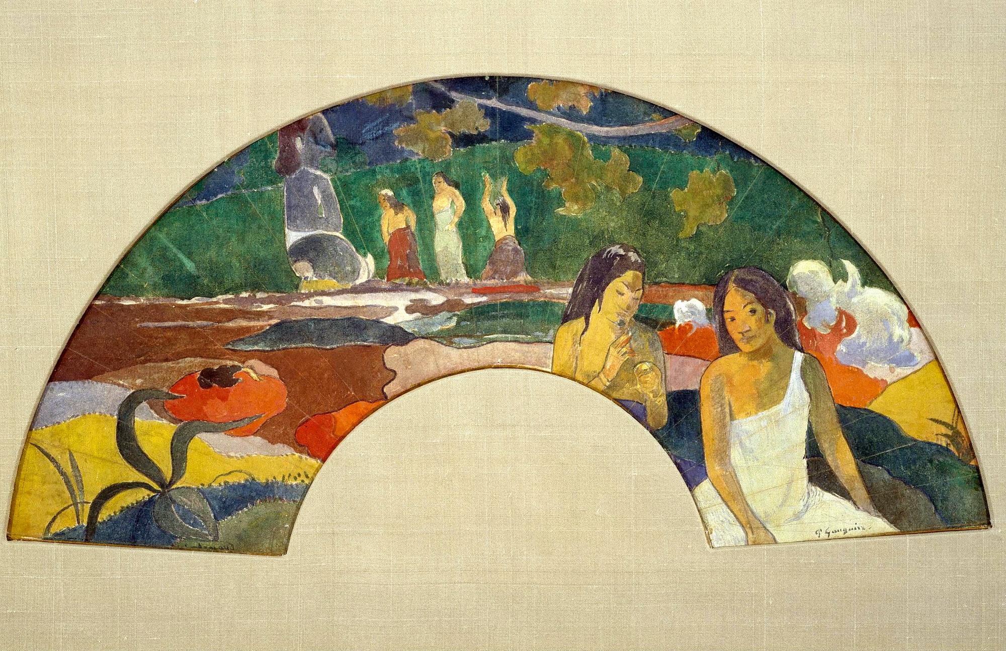 картина  < Aarearea, II (так же известна, как Радость, II) > :: Поль Гоген - Гоген Поль ( Paul Gauguin ) фото