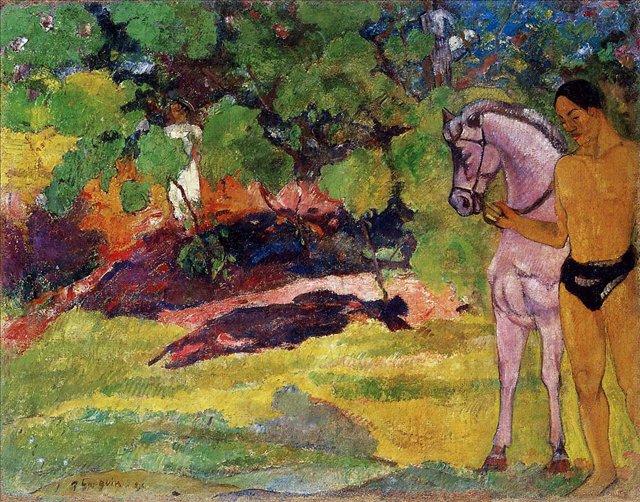 жанровая картина < В Ванильной роще > :: Поль Гоген - Гоген Поль ( Paul Gauguin ) фото