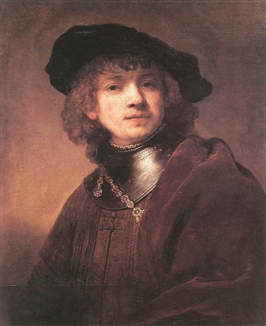 Автопортрет :: Рембрандт, Харменс ван Рейн - Rembrandt фото