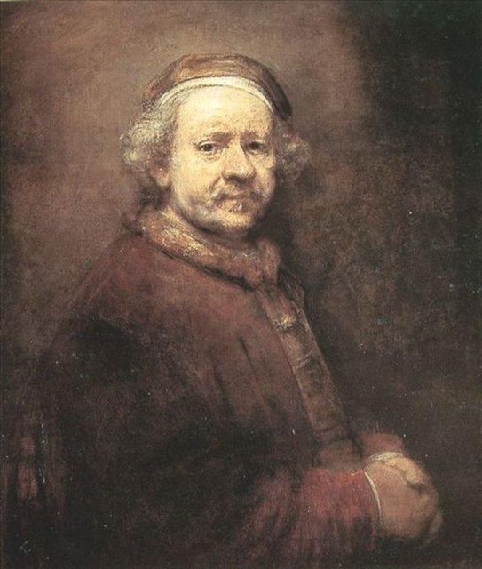 < Автопортрет в 63 > :: Харменс ван Рейн Рембрандт - Rembrandt фото