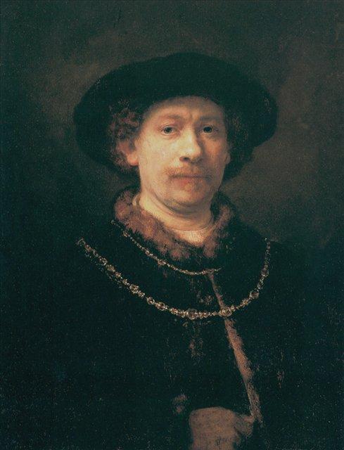 Автопортрет :: Харменс ван Рейн Рембрандт - Rembrandt фото
