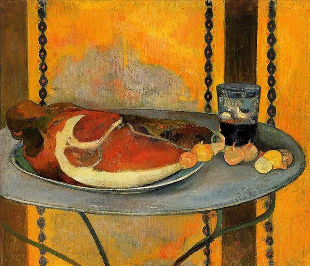 натюрморт < Ветчина > :: Поль Гоген - Paul Gauguin фото