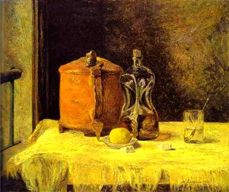натюрморт < На окне > :: Поль Гоген - Paul Gauguin фото