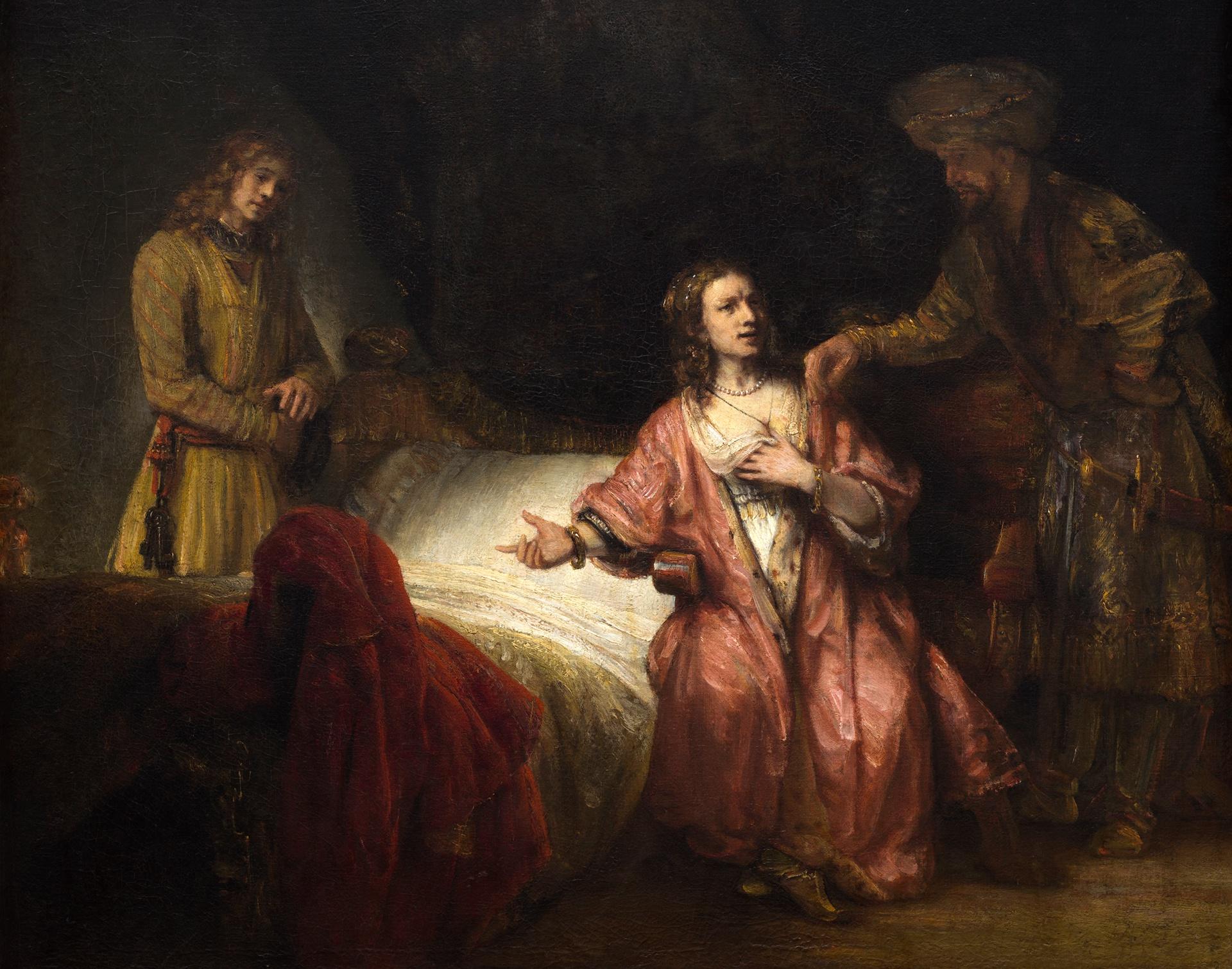< Иосиф, уличивший жену Потифара > :: Харменс ван Рейн Рембрандт - Rembrandt фото