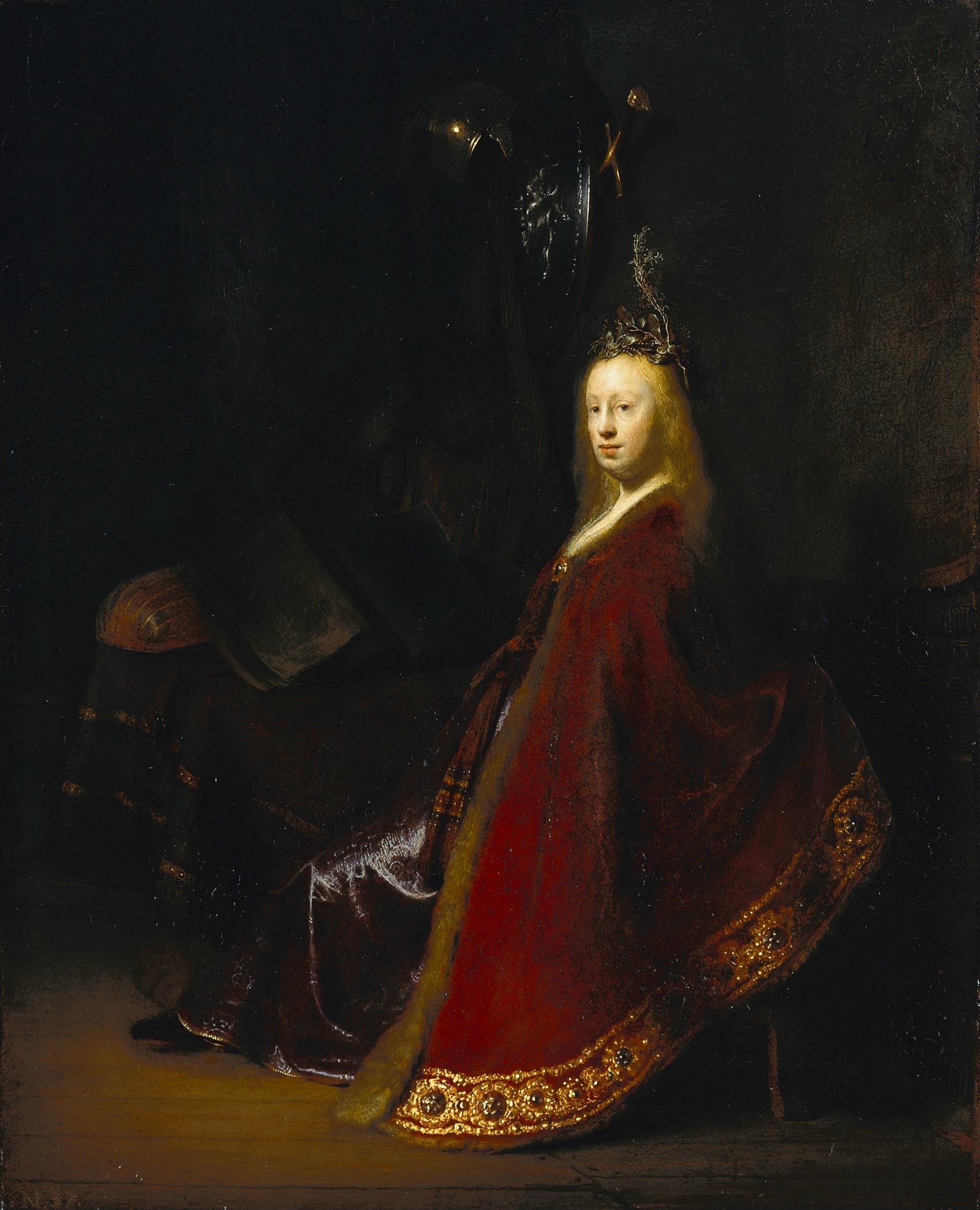 < Минерва > :: Харменс ван Рейн Рембрандт - Rembrandt (Рембрандт) фото