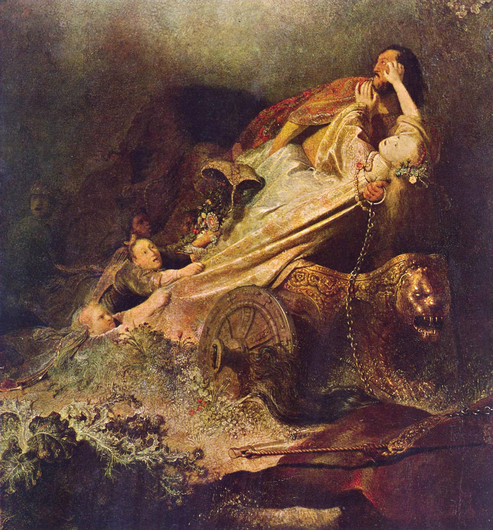 < Похищение Прозерпины > :: Харменс ван Рейн Рембрандт - Rembrandt (Рембрандт) фото