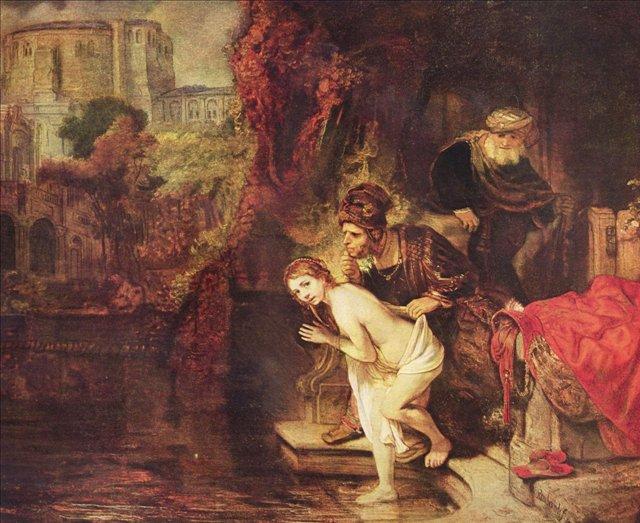 Сусанна и старцы :: Харменс ван Рейн Рембрандт - Rembrandt (Рембрандт) фото