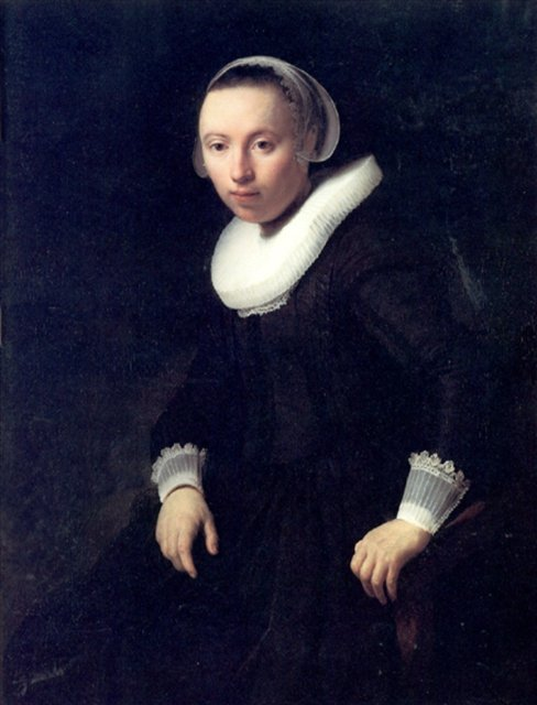 < Портрет молодой женщины > :: Харменс ван Рейн Рембрандт - Rembrandt (Рембрандт) фото