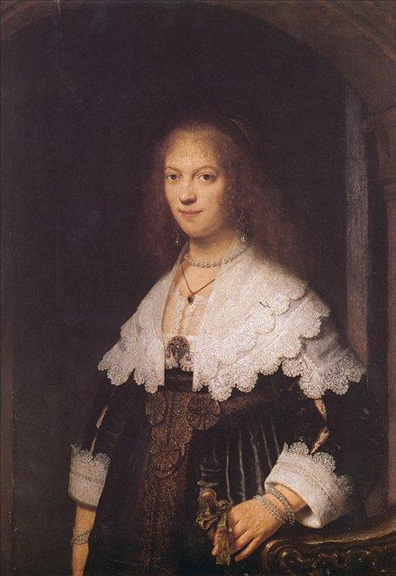 < Мария > :: Харменс ван Рейн Рембрандт - Rembrandt (Рембрандт) фото