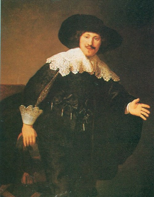 < Поднимающийся мужчина > :: Харменс ван Рейн Рембрандт - Rembrandt (Рембрандт) фото
