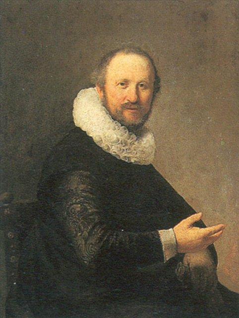 < Портрет сидящего мужчины > :: Харменс ван Рейн Рембрандт - Rembrandt фото