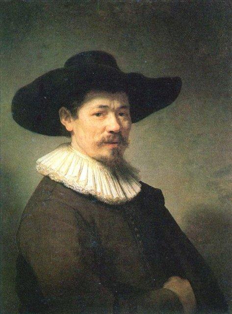 < Портрет Германа Думера > :: Харменс ван Рейн Рембрандт - Rembrandt (Рембрандт) фото