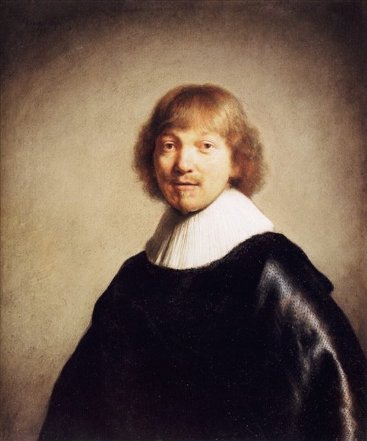 < Портрет Якоба де Гейна Третьего > :: Харменс ван Рейн Рембрандт - Rembrandt фото