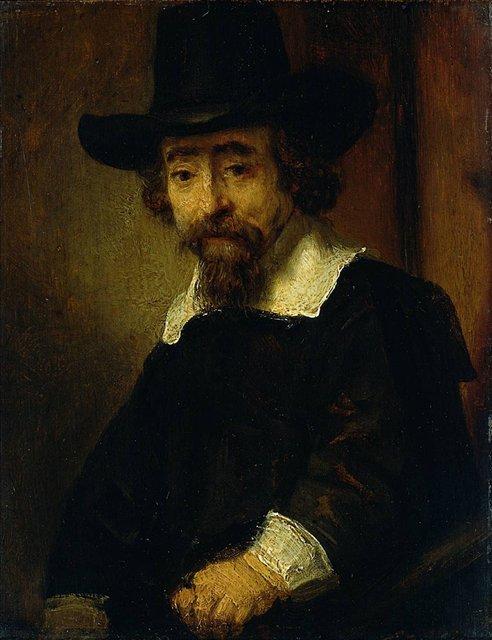 < Ефраим Буэно, еврейский доктор и писатель> :: Харменс ван Рейн Рембрандт - Rembrandt фото