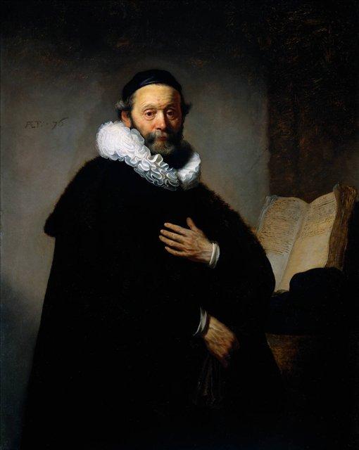 < Портрет Йоханнеса Уотенбогарта > :: Харменс ван Рейн Рембрандт - Rembrandt (Рембрандт) фото