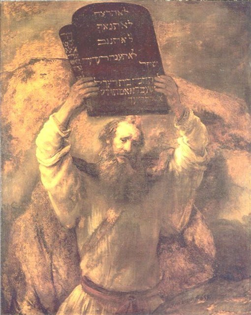 < Моисей > :: Харменс ван Рейн Рембрандт - Rembrandt (Рембрандт) фото