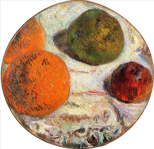 натюрморт  < Фрукты > :: Поль Гоген - Paul Gauguin фото