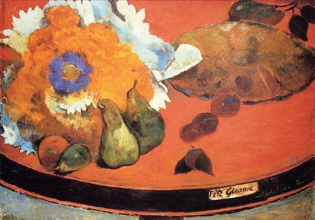Натюрморт a la fete Gloanec :: Гоген Поль - Paul Gauguin фото