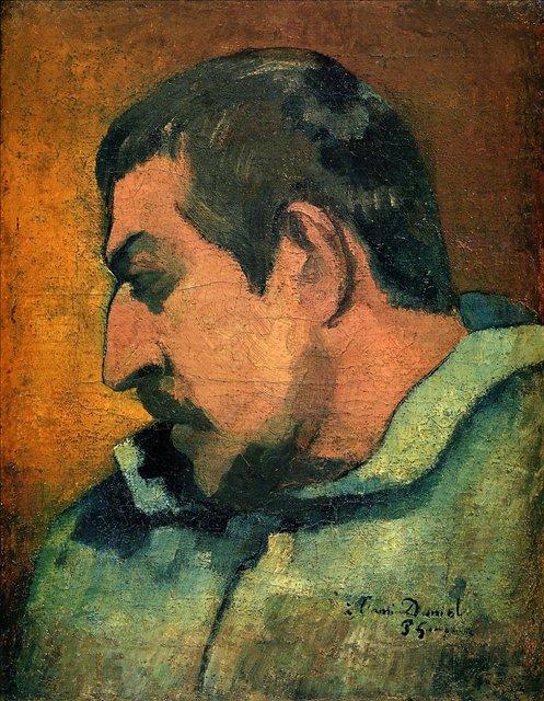 Автопортрет в фас :: Поль Гоген - Paul Gauguin фото