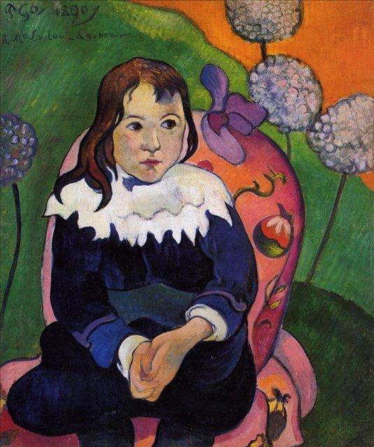М. Лулу  :: Поль Гоген - Paul Gauguin фото
