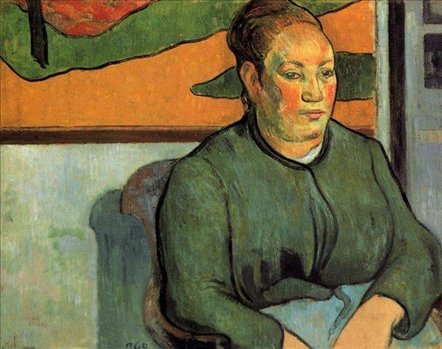 < Мадам Роулин >  :: Поль Гоген [ живопись постимпрессионизм ] - Paul Gauguin фото