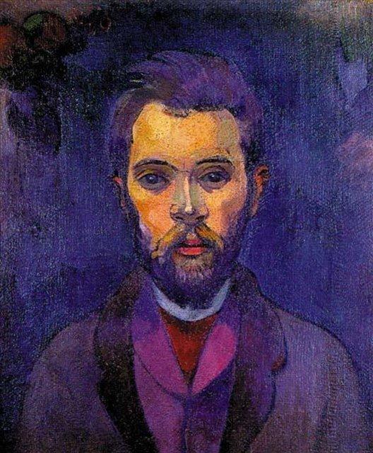 Портрет Уильяма Моларда :: Поль Гоген [ живопись постимпрессионизм ] - Paul Gauguin фото