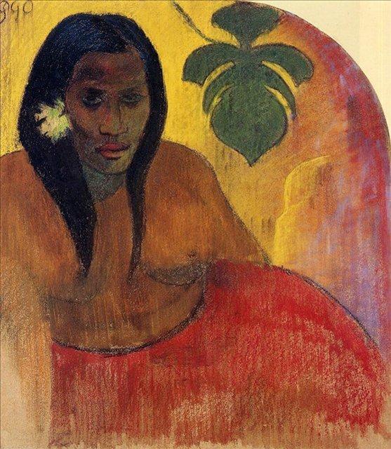Таитянка :: Поль Гоген - Paul Gauguin фото