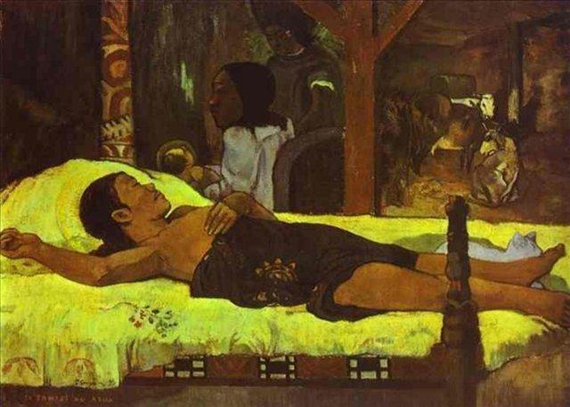 Te tamari no atua (Рождение) :: Поль Гоген - Paul Gauguin фото