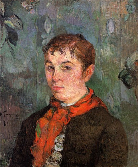 < Дочь хозяина >  :: Поль Гоген [ живопись постимпрессионизм ] - Гоген Поль ( Paul Gauguin ) фото