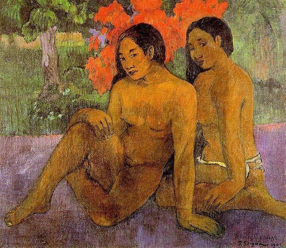 Картины Ню < Золото их тел >  :: Поль Гоген [ живопись постимпрессионизм ] - Paul Gauguin фото