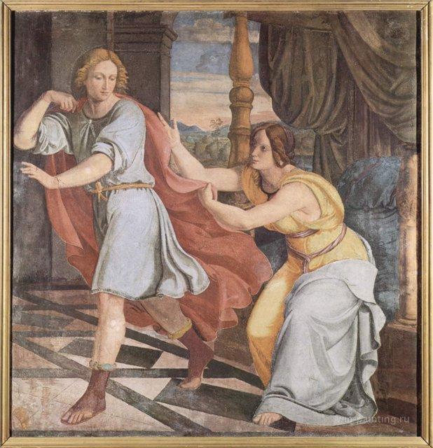 Цикл фресок в Каза Бартольди (Рим) :: Филипп Вайт [ роспись стен, фрески, маньеризм ] - Фрески, монументальная живопись, роспись стен фото