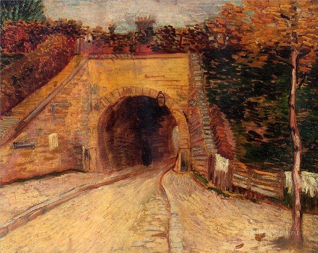 Подземный тоннель (Виадук) :: Ван Гог, описание картины - Van Gogh фото