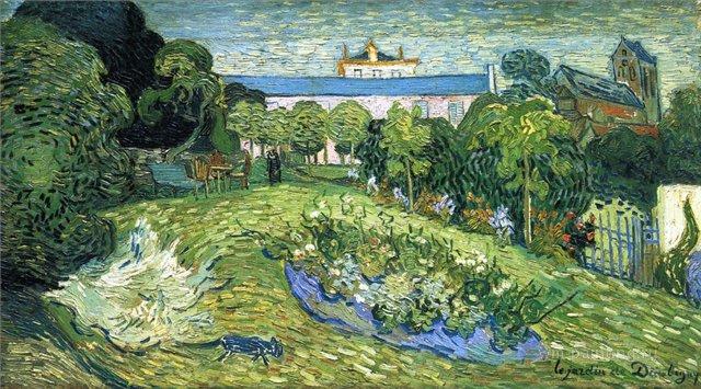 Сад Добиньи :: Ван Гог, описание картины  - Van Gogh фото