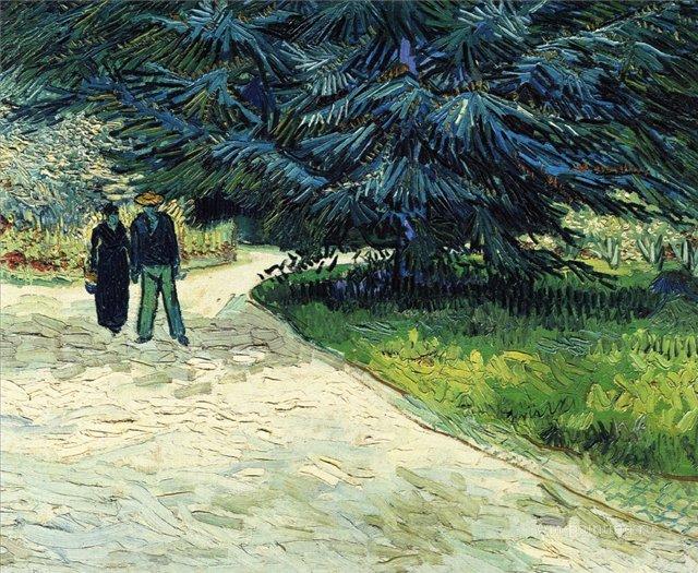 Сад поэтов :: Ван Гог, описание картины - Van Gogh фото