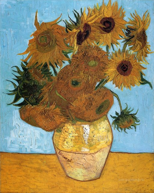 Подсолнухи :: Ван Гог, описание картины - Van Gogh фото