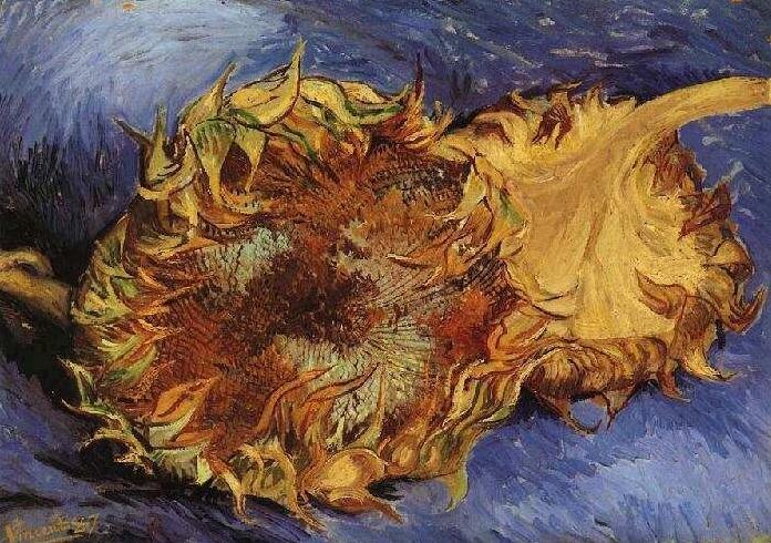Подсолнухи [ картина - подсолнухи ] :: Ван Гог, описание картины - Van Gogh (Ван Гог) фото