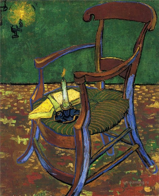 Стул Гогена :: Ван Гог, описание картины - Van Gogh (Ван Гог) фото