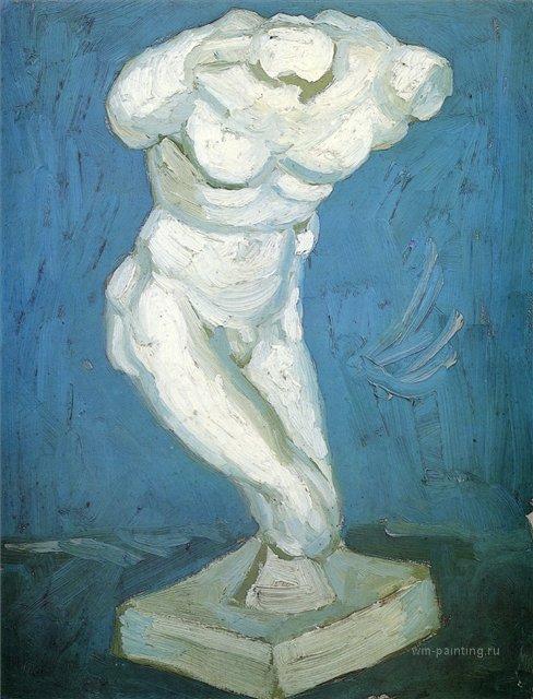Мужская обнажённая натура [ картина - натюрморт ] :: Ван Гог, описание картины - Van Gogh фото