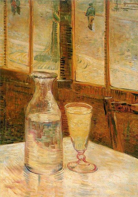 Натюрморт с абсентом [ картина - натюрморт ] :: Ван Гог, описание картины - Van Gogh фото