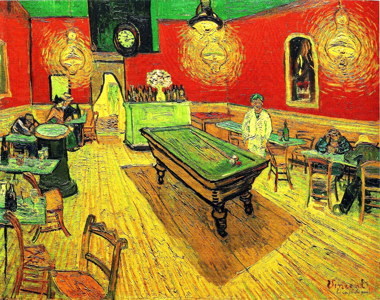 Ночное кафе :: Ван Гог, описание картины - Van Gogh (Ван Гог) фото