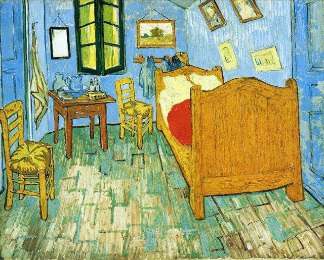 Спальня Винсента в Арле :: Ван Гог, описание картины - Van Gogh фото