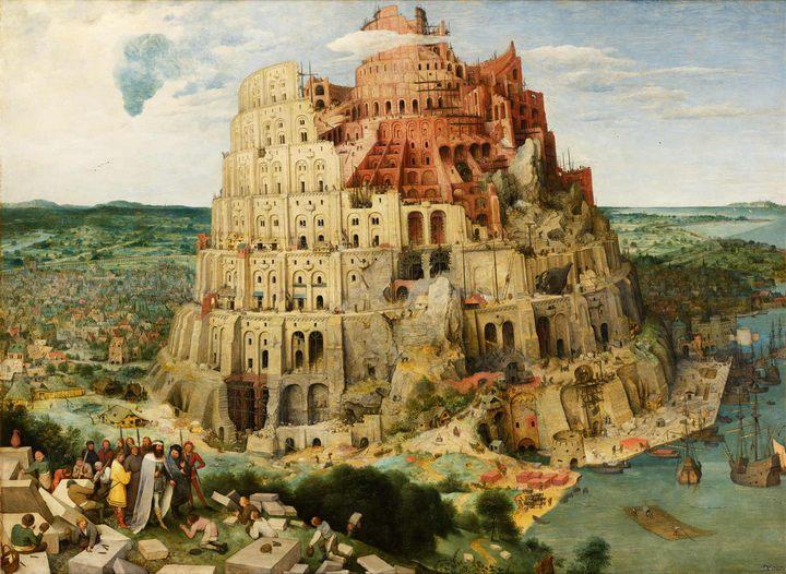 картина Вавилонская башня :: Брейгель Питер - Pieter Bruegel de Oude фото